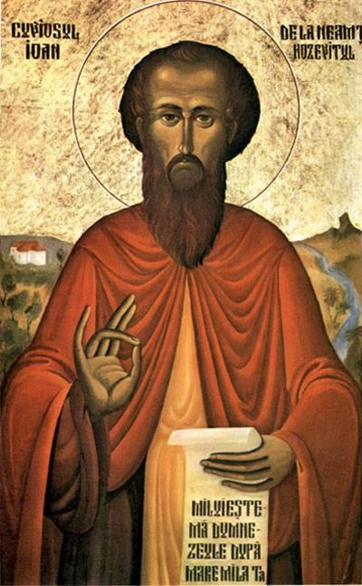 Преподобный Иоанн Хозевит, епископ