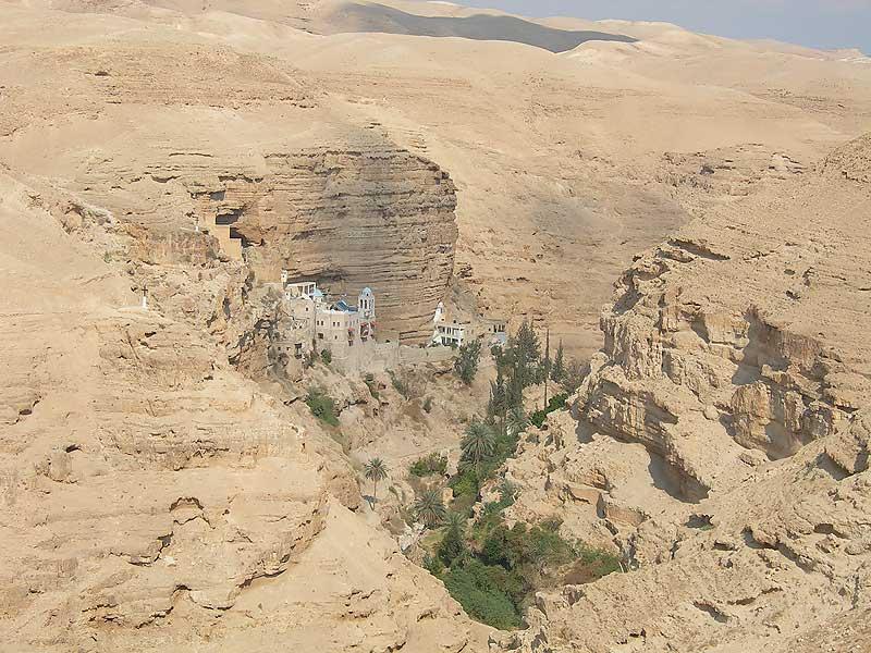 монастырь свв.Иоанна и Георгия Хозевитов, иудейская пустыня