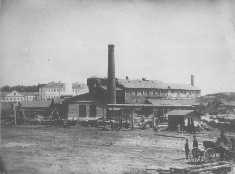 Баташовский завод в Гусь-Железном