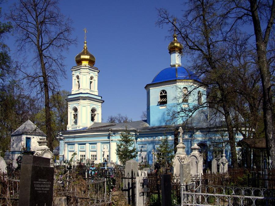 церковь Ярославских Чудотворцев на Арском кладбище Казани