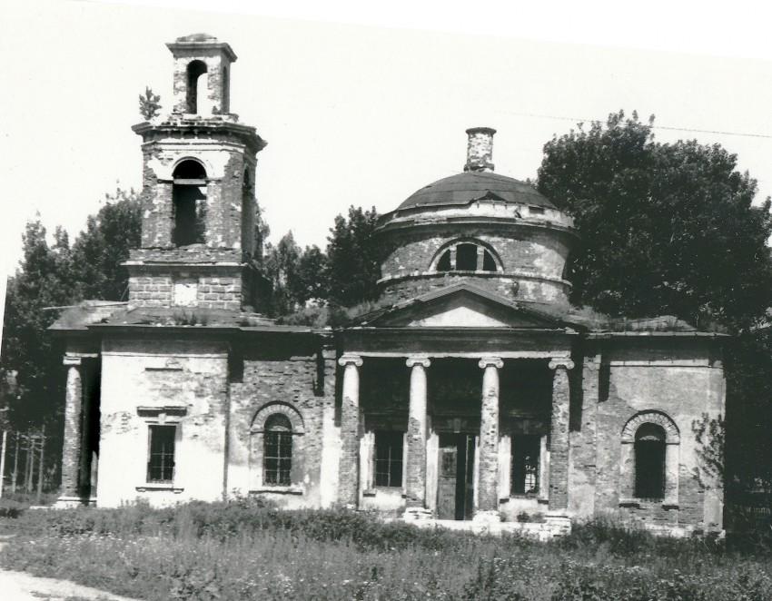 Церковь Георгия Победоносца в Старых Кельцах_фото_1989