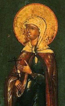 Преподобная Харитина Литовская, игумения