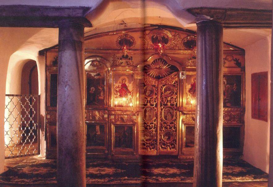 Ближние пещеры, Подземный Введенский храм