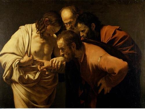 Неверие святого Фомы, Караваджо 1601-02