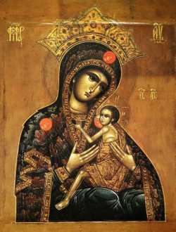Икона Богородицы Арапетская (Аравийская, О Всепетая Мати)