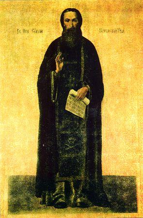 Преподобный Сергий Обнорский, Нуромский, Вологодский