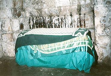 гробница в пещере прп Пелагеи антиохийской