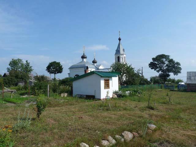 Восстановленный храм апостолов Петра и Павла
