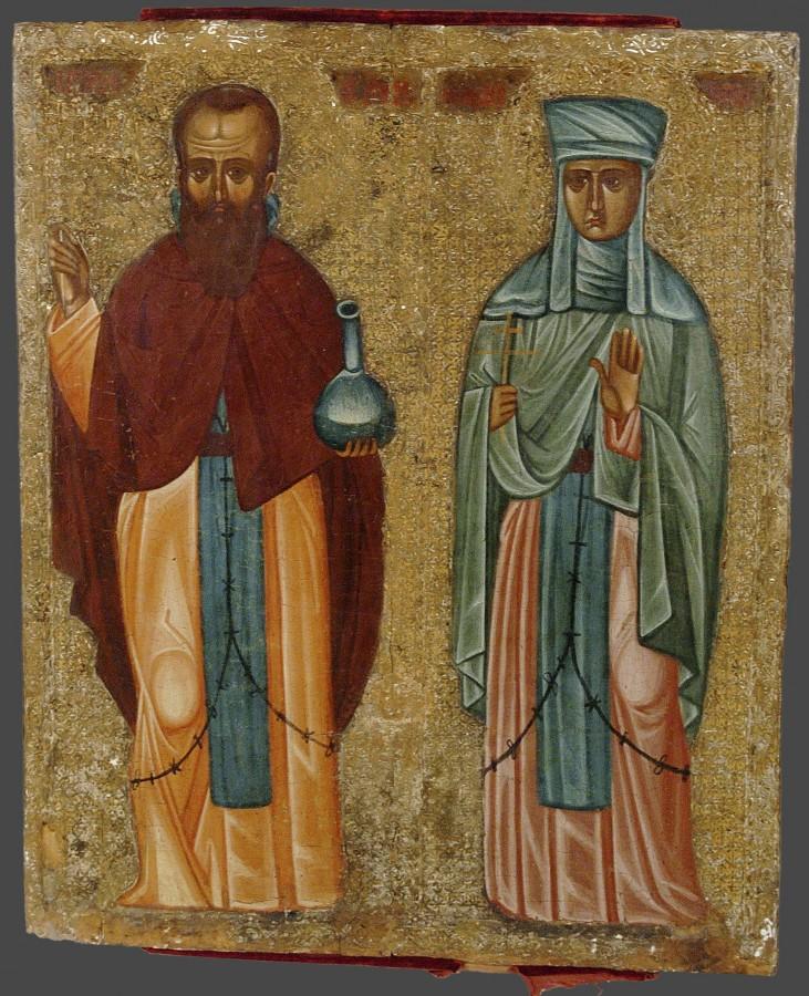 прп Андроник Антиохийский и жена его Афанасия