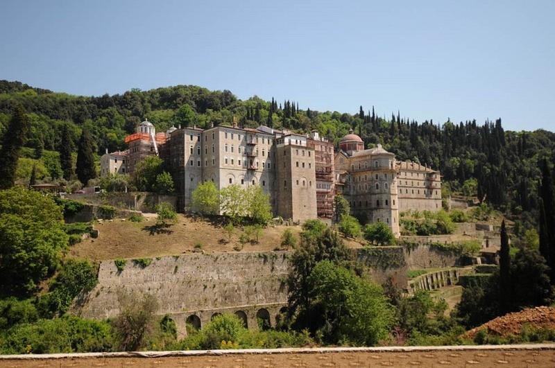 монастырь Зоограф Афон