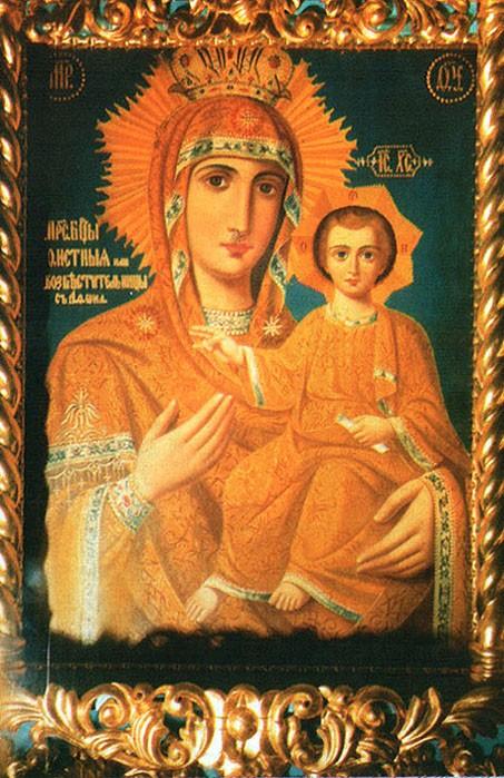 Икона Богородицы Акафистная Зографская (Предвозвестительница)
