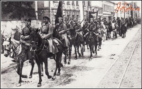Вхождение Красной армии в Казань 1918 год