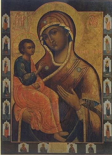 Иерусалимская Икона Божьей Матери. Измайловский список