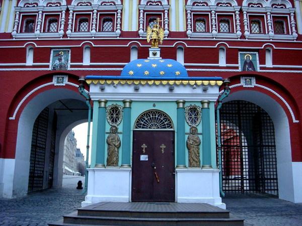 часовня иверской иконы божией матери на красной площади