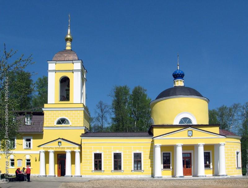 Церковь Всех Святых на Кокуевском кладбище Сергиева Посада Московской области