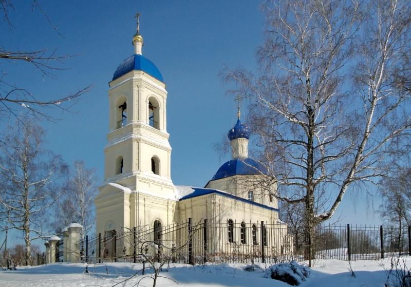 Церковь Спаса Преображения - Спас-Дощатый - Зарайский район - Московская область