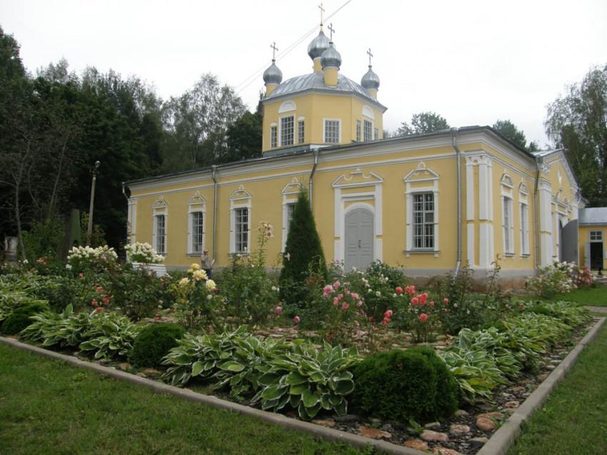 Церковь Спаса Преображения - Леохново - Старорусский район - Новгородская область