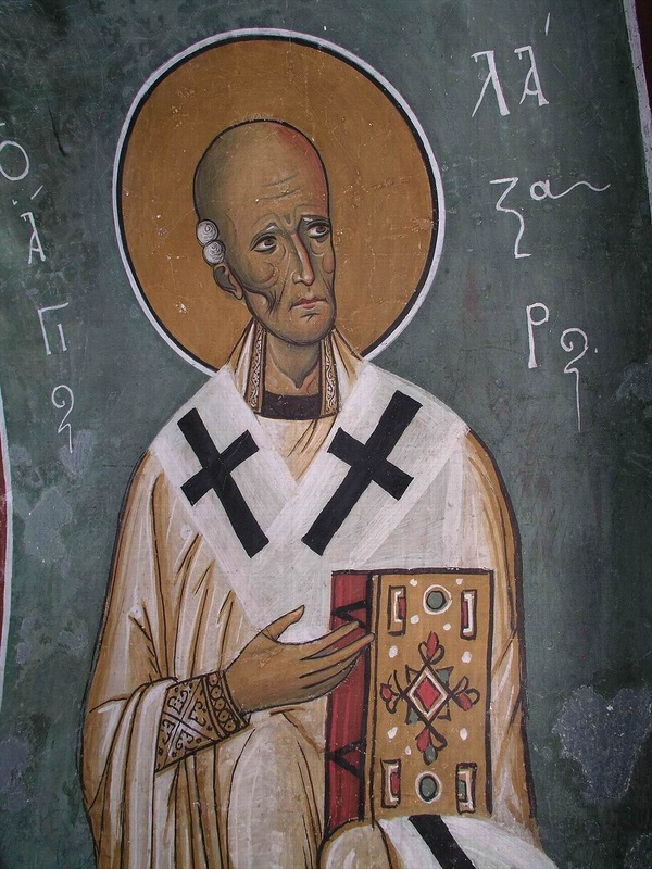 Праведный Лазарь Четверодневный, друг Божий, епископ_1
