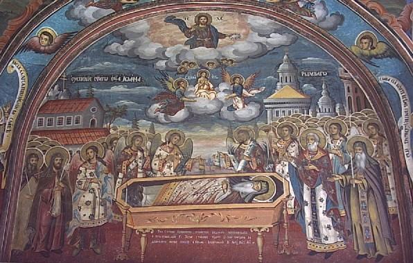 преподобный Иоанн Рыльский, перенесение мощей