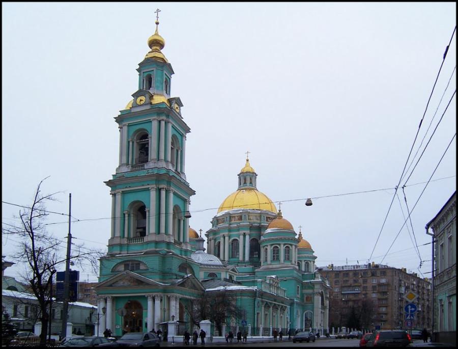 Богоявленский Елоховский кафедральный собор, Москва