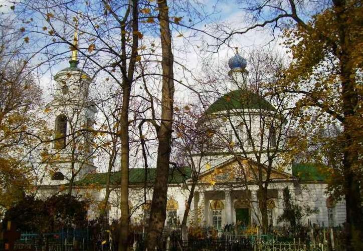 Рязанский Скорбященский храм