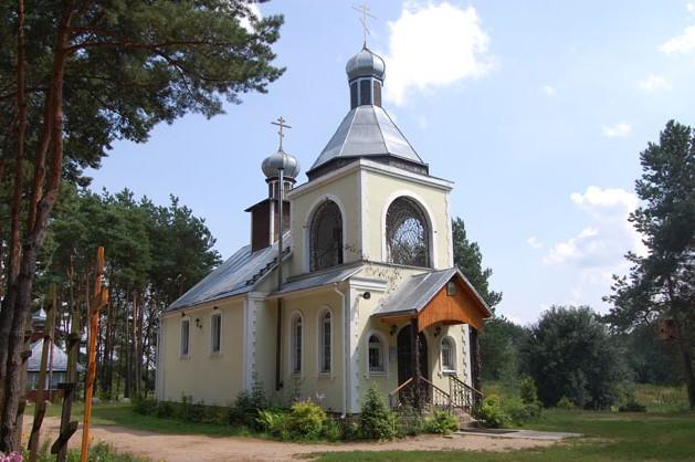 храм в честь преподобного Елисея Лавришевского
