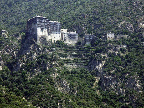 Монастырь Симонопетра Афон