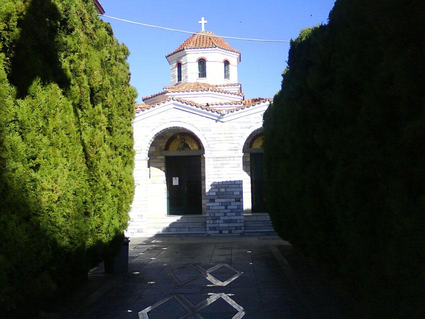 монастырь Вознесения Господня в селении Таксиархи, Драма