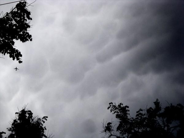 Вымяобразные облака 29.05.15.
