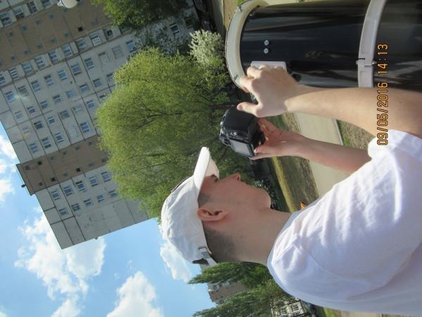 Во время съёмки транзита Меркурия.