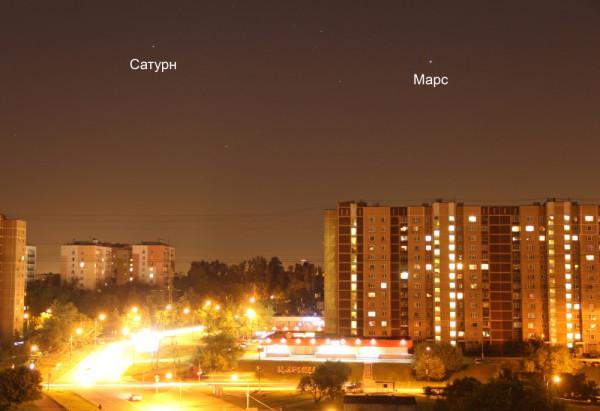 Пейзажный снимок Сатурна 03.06.16.