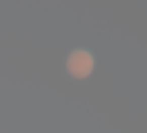 Марс на дневном небе 17.06.2016.