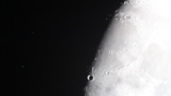 Луна до покрытия звёзд, 05.02.2017.