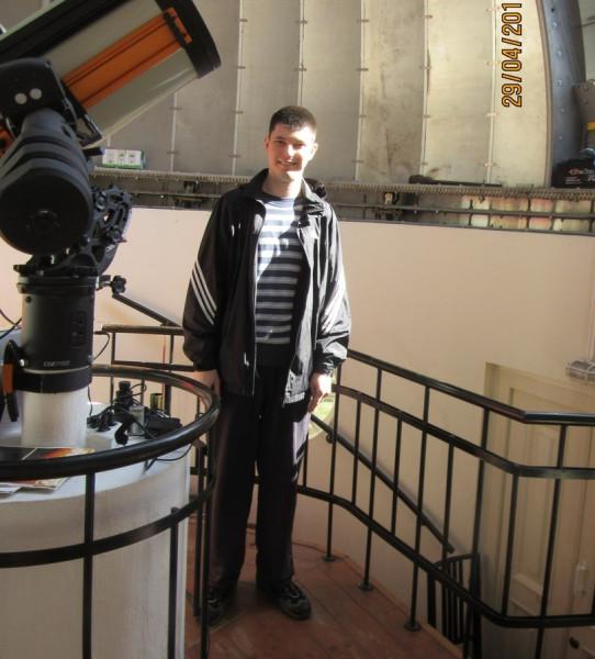 29.04.2017, в обсерватории Парка им. Горького