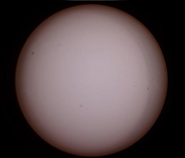 Солнце 7 марта 2014 г.