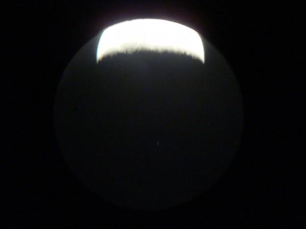 Луна и Дзета Тельца 30.03.2012 за 17 минут до покрытия.
