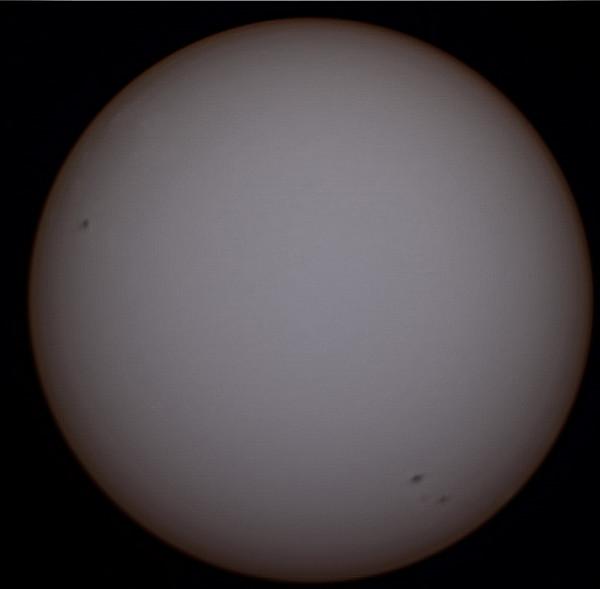 Солнце 10 апреля 2014 г.