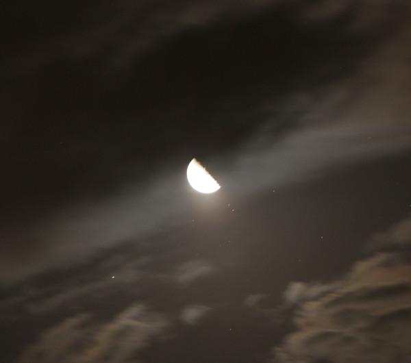 Луна и Альдебаран - 03.09.2018.
