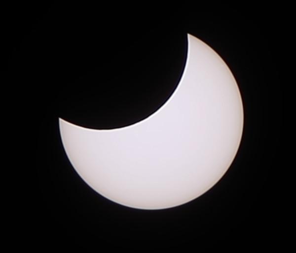 Максимальная фаза солнечного затмения 06.01.2019
