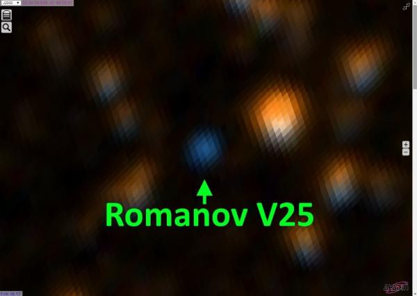 Переменная звезда Romanov V25