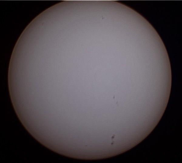 Солнце 29 апреля 2014 г.