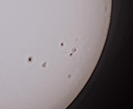 Солнце 8 мая 2014 года.