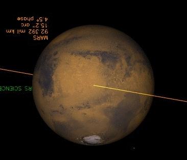 Марс 14 апреля 2014 г.
