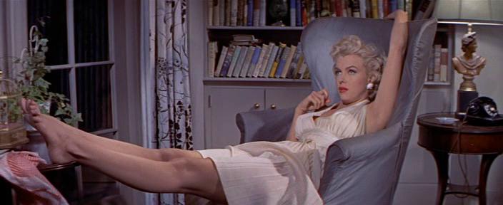 Зуд седьмого года. Режиссёр Билли Уайлдер. 1955.