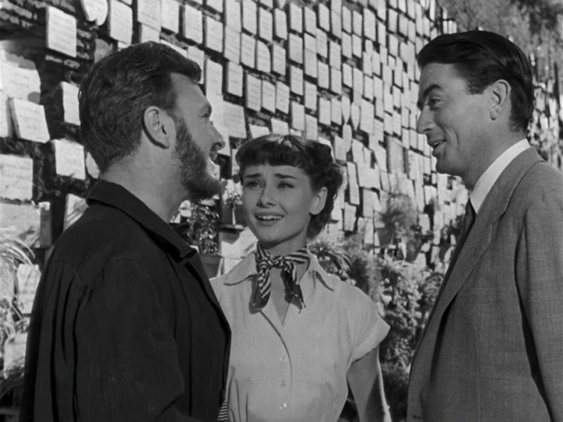 Римские каникулы. 1953. Рейтинг фильма - 8,364; 387-е место в Золотой Тысяче.