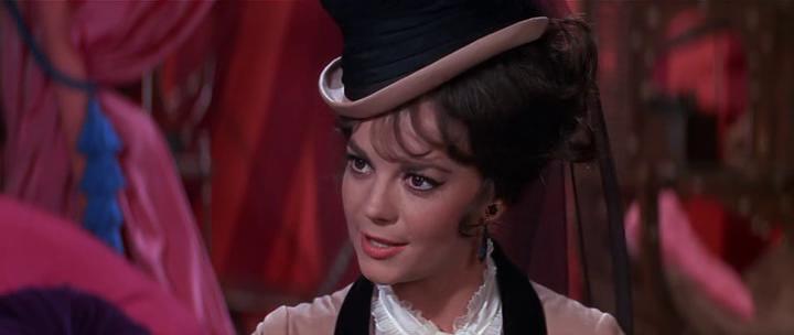 Большие гонки. Режиссёр Блейк Эдвардс, 1965. Натали - 27 лет.