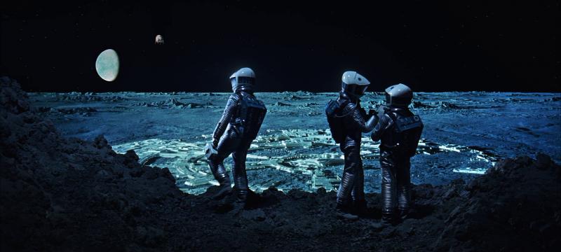 2001 год: Космическая одиссея. 1968. Рейтинг - 8,739, 225-е место в Золотой Тысяче.