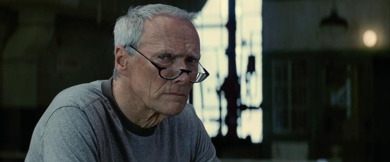 """Клинт Иствуд в своем фильме """"Малышка на миллион""""."""
