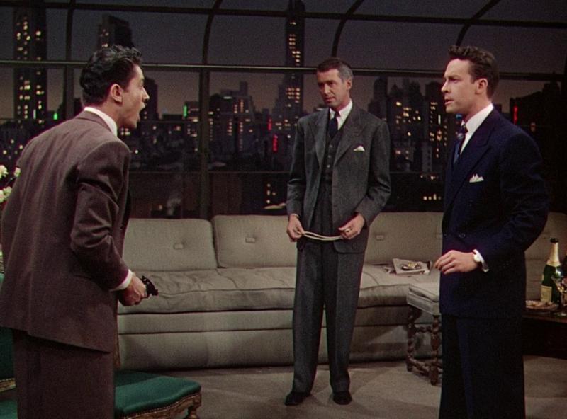 Веревка. 1948 год. Рейтинг фильма - 7,995. 713-е место в Золотой Тысяче.