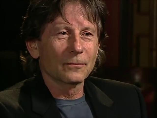 Роман Полански во время интервью. 2000 год.